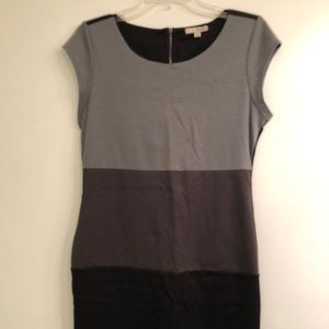 BeBop Fitted Gray Dress